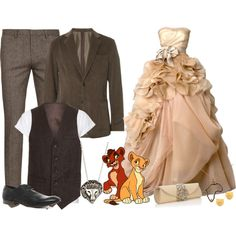 Disney Fashion: Kiara and Kovu (Lion King II)