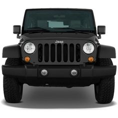 2008 Jeep Wrangler 4WD 4-door Unlimited Rubicon Front Exterior View ❤ liked on Polyvore featuring cars