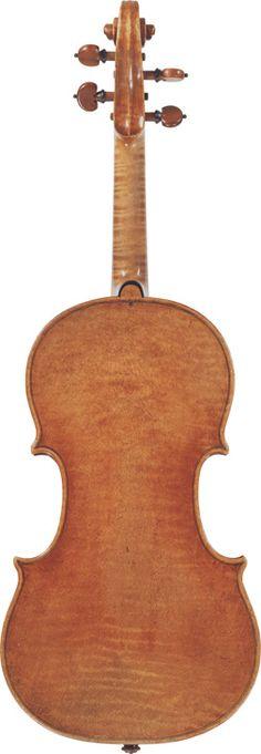 Carlo Tononi  (1725)  A Violin Venice, 1725  Labelled Carlo Tononi Bolognese fece in Venezia l'A: 1725  Length of back: 35.5 cm