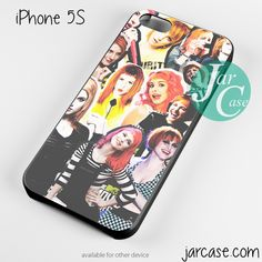 hayley williams collage Phone case for iPhone 4/4s/5/5c/5s/6/6 plus
