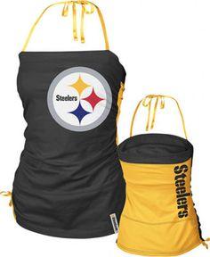 steelers bra | Pittsburgh Steelers Women's Her Cheer Top