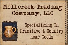 Welcome to Millcreek Trading Company, LLC... Great place for wholesale items