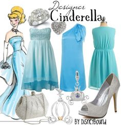 Jamie Warmanberg posted Disney Couture to his -Theme parks i love- postboard via the Juxtapost bookmarklet. Themed Outfits, Girl Outfits, Cute Outfits, Princess Outfits, Princess Fashion, Princess Costumes, Cinderella Outfit, Cinderella Disney, Disney Princesses