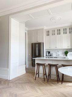 Kitchen Interior, Kitchen Decor, Kitchen Design, Interior Architecture, Interior Design, Melbourne House, Bedroom Vintage, Home Living, Home Fashion