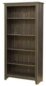 Amish Primitive Pine Bookcase 6' Height