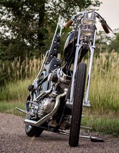 Chopper Panhead HD Old School - Nice!