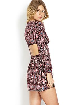 NEED. Romantic Voyage Cutout Dress | FOREVER21 - 2000071176