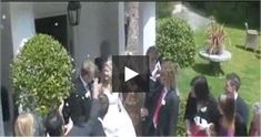 Grandma Throws Drink At Bride... #funny #video