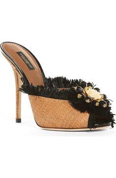 Imagem Principal - Dolce & Gabbana Embellished Sandal (Mulher)