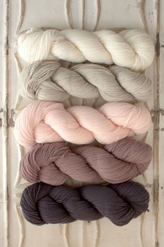 Yarn for Garden House Baby Blanket