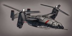 Contact - Air Truck VTOL by Shimmering-Sword.deviantart.com on @deviantART