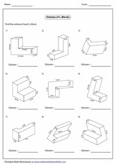 Image Result For Free 6th Grade Math Worksheets Area And Perimeter