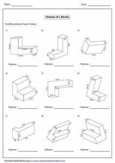 prisms and cylinders volume worksheets math aids com pinterest cylinder volume and worksheets. Black Bedroom Furniture Sets. Home Design Ideas