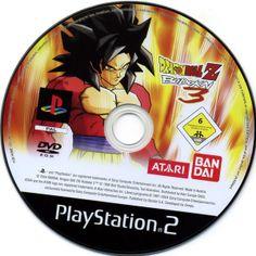 Dragon Ball Z: Budokai Platinum Sony PlayStation 2 PS2 Disc only