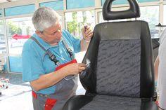 professionelle Reparatur von Polster, Leder und Kunststoffen im Innenraum von Kraftfahrzeugen