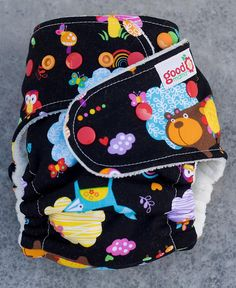 Black Forest One-Size Fitted Diaper | Flickr - Photo Sharing!