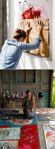 """""""El artista es la mano que, mediante una tela determinada, hace vibrar el alma humana"""" ~Wassily Kandinsky"""