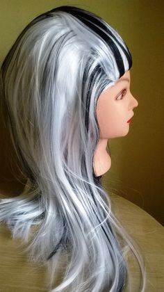 Frankie Stein  Wig Girls Wig Monster High by HATHAPPINESS on Etsy