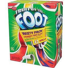 I got Fruit By The Foot! What Beloved '90s Snack Are You?