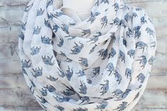 www.etsy.com/listing/178492775/elephant-print-infinity-scarf-for-woman