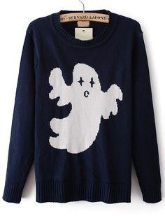 Jersey punto fantasma manga larga-Marino EUR€24.12