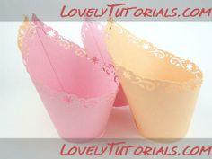 Beautifull cupcake wrapper tutorial
