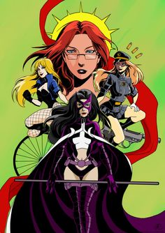 Birds Of Prey by PatriciaAlejo on DeviantArt Dc Comics Heroes, Arte Dc Comics, Dc Comic Books, Comic Art, Batgirl, Marvel, Batman Versus, Univers Dc, Comic Villains
