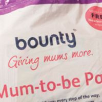 This is where the free Bounty Mum-to-be pack stuffed with samples can help you out a little.