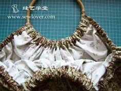 Bamboo handle purse tutorial