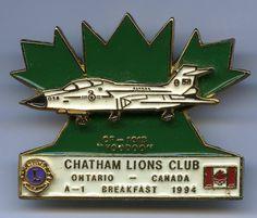 Lions Club - Chatham, Ontario - 1994 - CF-101 - Voodoo