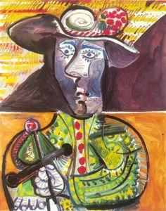 1970 Le matador 2. Пабло Пикассо (1881-1973) Период: 1962-1973