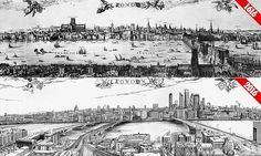 How London's skyline has completely changed since 1616