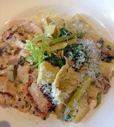 Hand Cut Pappardelle with Chicken