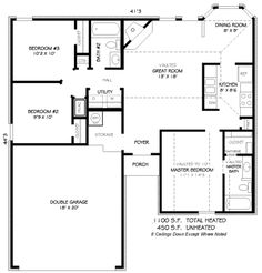 1100 Sq Ft House Plans 1200 sq ft house plans - google search | house plans | pinterest