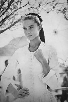 Audrey Hepburn. Beauty and Grace complementing each other.