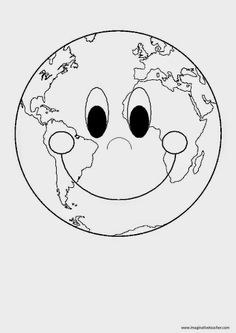 Earth Day Coloring Pages, Bible Coloring Pages, Save Earth Posters, April Preschool, Solar System Crafts, Earth Day Crafts, English Worksheets For Kids, Earth Day Activities, Mothers Day Crafts For Kids