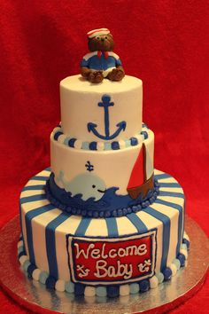 The nautical cake baby shower baby shower decoration ideas is designed that talking about to the Home Interior looking. Description from limbago.com. I searched for this on bing.com/images