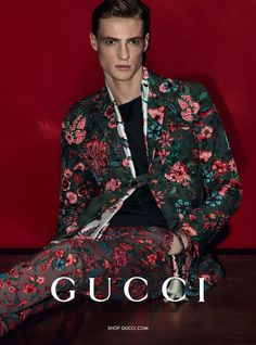 3c88de0991 Gucci Spring/Summer 2014 Advertisements–Italian fashion house Gucci enlists  models Luca Stacheit and Tommaso de Benedictis for their spring/summer 2014  ...
