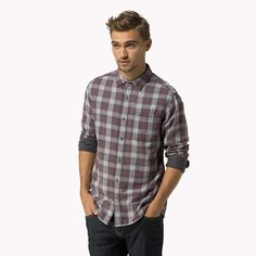 Hilfiger Denim Double Cloth Shirt - wistful mauve (Pink / Purple) - Hilfiger Denim Casual Shirts - main image