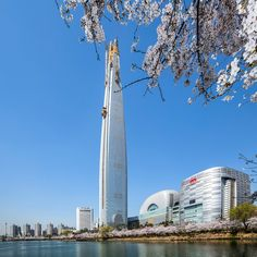 Lotte World Tower Statue Of Liberty, Engineering, Tower, Korean, Architecture, Building, Travel, Statue Of Liberty Facts, Arquitetura