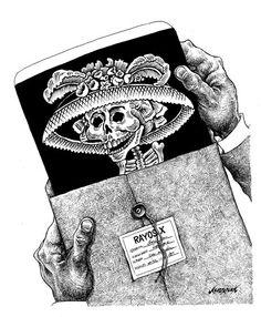 """Radiografía"" Cartón de Nerilicón #humor #cartones"