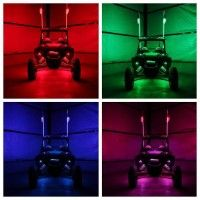4 Foot Safety Led Flag Utv Led Whip Flag Simply The Brightest Led Flag On The Market But Dont Take Our Word Fo Bright Led Lights Led Rock Light Bright Led