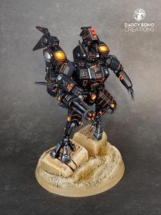 Tau Warhammer, Warhammer Paint, Warhammer Models, Tau Battlesuit, Warhammer Tabletop, Tau Army, Miniaturas Warhammer 40k, Tau Empire, Necron