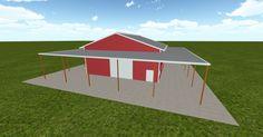 Cool 3D #marketing http://ift.tt/2e6Zt05 #barn #workshop #greenhouse #garage #roofing #DIY