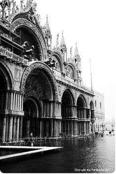 St Mark's in Venice, flooded, from a few Christmases ago. A great memory.
