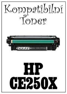 Kompatibilní toner HP 504X / HP CE250X za bezva cenu 1888 Kč