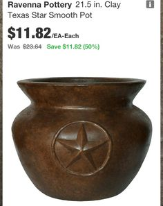 Want for my Texas star theme -for the front porch and back patio