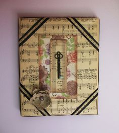 Charming VINTAGE SHEET MUSIC springtime by ShopVintageChickadee, $35.00
