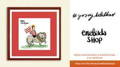 #Illustration #Ilustración #alaventa https://www.etsy.com/es/shop/enebadashop