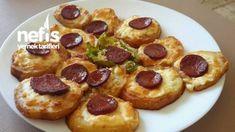Kahvaltılık Kaşarlı Sucuklu Patates ( Çok Pratik )